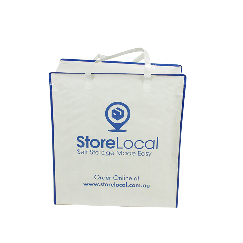 Hot Selling Handles Supermarket shopping gift PP Woven Bag