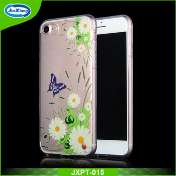 New fashion OEM design tranparent soft tpu case cover for iphone 6 7 7 plus