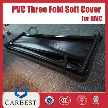 High Quality PVC Three Fold Soft Cover FOR GMC Canyon