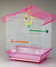 Low Price Handmade Small Parrot Bird Cage with free perches and feeding cups 1607