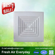 HVAC ceiling 4 way air vent register plastic ac vents