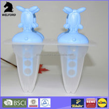 Lovely colorful rabbit Ice Lolly mould Popsicle ice maker