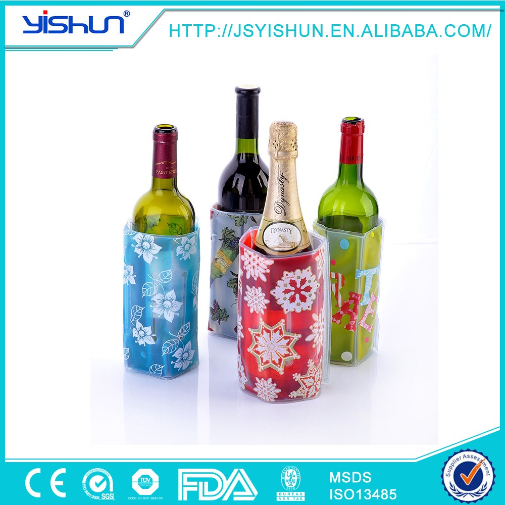 1.5l beer bottle cooler bag,drawstring bottle cooler made in china,personlise printing bottle cooler