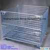 Industrial Stackable Storage Wire Cages with Heavy Duty