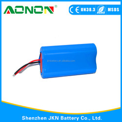 18650 lithium battery pack for LED Light