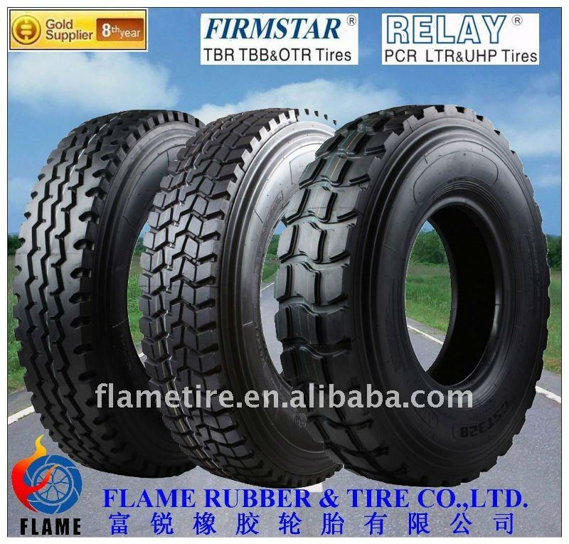900R20 1000R20 Radial truck tyres