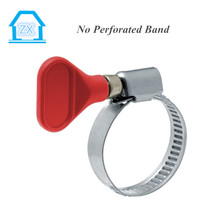 A variety of color plastic handle Hose Clamp Stainless Hose Clamp