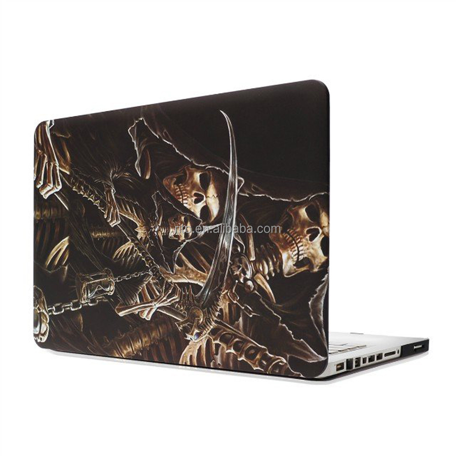 Skeleton Pattern Custom Computer Hard Case Cover for Macbook Pro 13 Inch