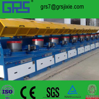 China Maker High Efficiency Straight Line Welding Wire Drawing Machine