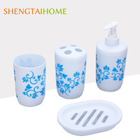 wholesale OEM and OEM householder sets with toothpaste dispenser and toothbrush holder
