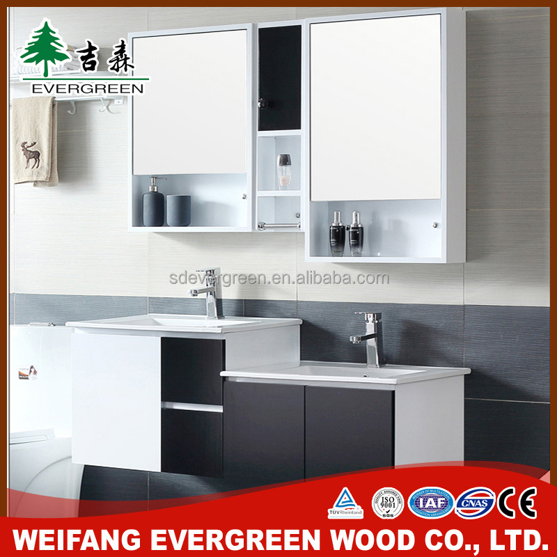 Cheap Double Bowl Bathroom Vanity From Weifang Evergreen