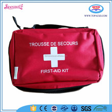 Wholesale latest red accident emergency car first aid kit