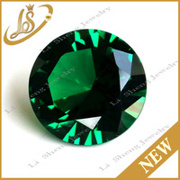 3mm 4mm 5mm 8mm 10mm green nano spinel gemstone wholesale