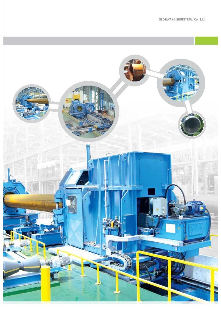 End Facing Machine for LSAW pipe