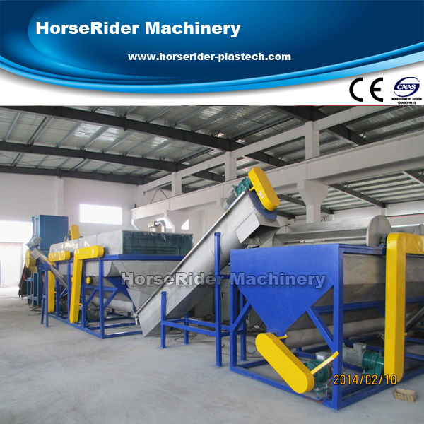 plastic pp pe film recycling machine/waste plastic recycling machine