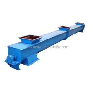 Auger spring screw conveyor for cement
