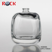 100ml car air freshener bottle/glass perfume bottle