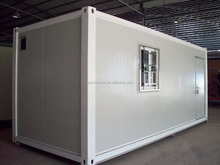 Long life span two storey strong flat pack container house