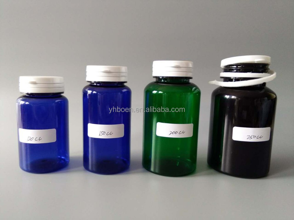 25cc - 300cc PET/HDPE Medicine Pill Bottle