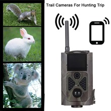 outdoor 16MP 2G hunting Camera game scout guard wireless security cam Night Vision MMS Camera IR Sensor cam GPRS 2g trial camera