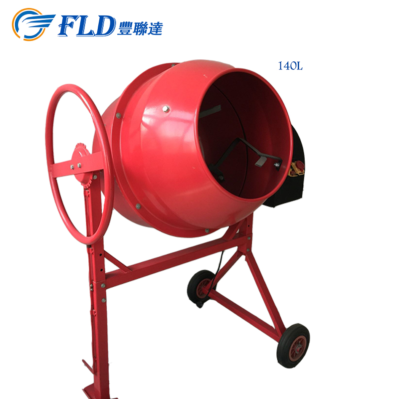 Wholesale Price Small Portable Mini Electric Cement Mixer Concrete Mixer 140L