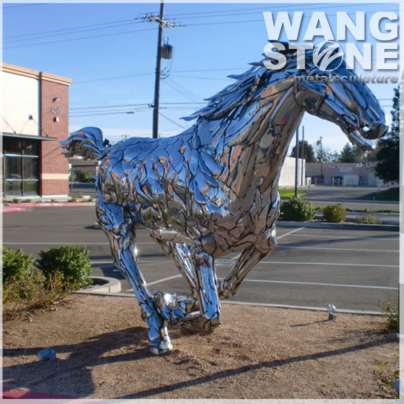 Large Life Size Statues Flying Horse Sculpture For Sale
