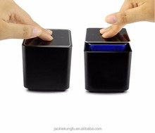 Wireless Bluetooth Speakers, Portable Touch Screen LED Hands free Surround Sound Mini Speaker for All Bluetooth Devices