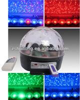 new LED crystal disco ball light with mp3 player /USB ,SD card control music light/ led disco light manufacture