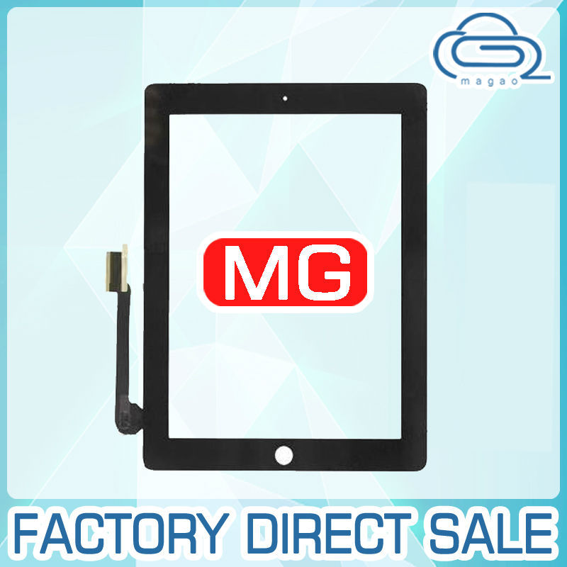 complete for iphone ipad 4 lcd digitizer touch screen, for ipad 4 touch screen assembly