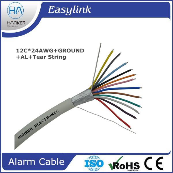 12 cores 100m security system Alarm Cable