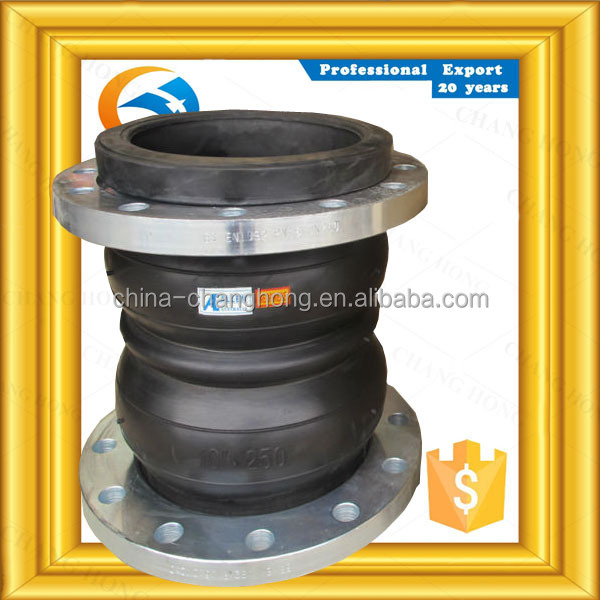 20 percent off PN16 double sphere rubber expansion joints concrete for pumps