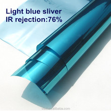 Blue Silver mirror window heat rejection film,Residential film