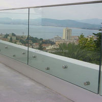 Euro Privacy Clear Acrylic Plexiglass Fence