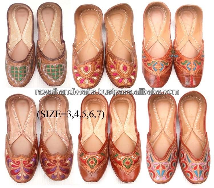 Mojris Nagara Shoes Party Wear Sandal Punjabi Juti Jutti Khussa Shoes Indian Shoes