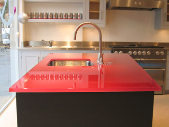 Australia standard glass worktop with ASNZS 2208:1996 certificate