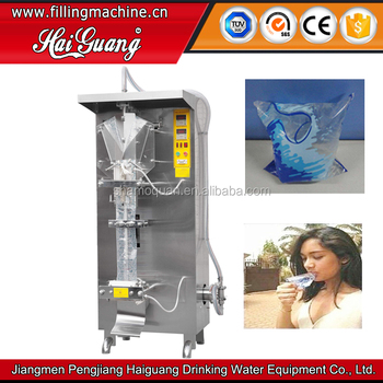 Top Grade Best Sell Multifunctional Drinking Water Pouch Packing Machine