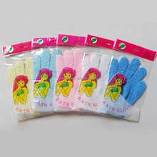 Hot sale nylon bath glove