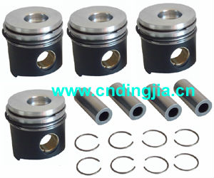 Piston With Ring & Pin & Spring Set / STD 99443923 / 90681600 / 97354023 FOR IVECO 49 / 30 / 40 / 45 series , SOFT packing