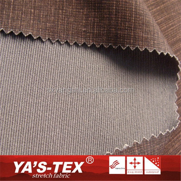 wholesale woven yarn dyed polyester jacquard micro fiber fabric for sports wear