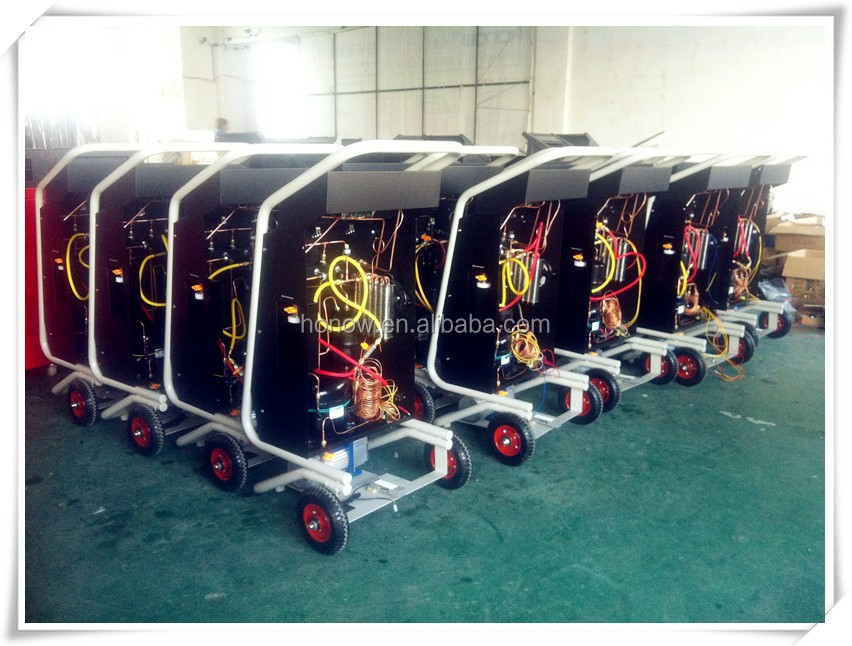 Refrigerant Recovery Machine HO-L180A, R134a Charging Machine