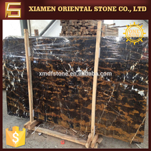 luxury black marble stone potoro with gold veins for building design