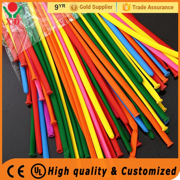 2016 high quality festival magic balloon thicken colorful mixed color magic balloon