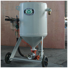 Portable shot blasting machine price with grits