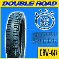 ISO9001: 2008 Certified high quality motorcycle tyre and tube