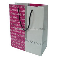 foldable offset print Shopping Paper Bag