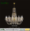 2016 contemporary crystal chandelier bobeche with Energy Saving