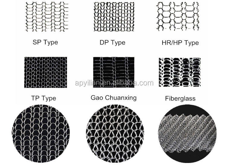 Professional 50mm Width Monel 400 Knitted Wire Mesh for shieldi with CE certificate