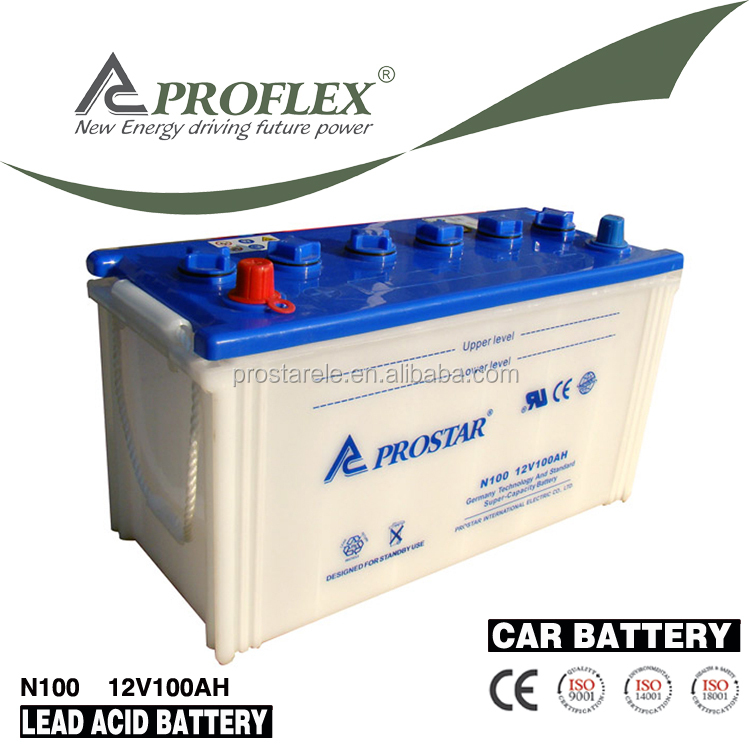 12volt automotive 100ah maintenance free auto car battery