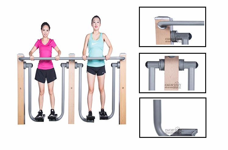 Factory price outdoor fitness equipment sky runner in hot sale