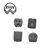 fairlead Silicone rubber grommets black rubber pvc cable grommets / rubber wire cable stopper